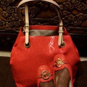 Michael Kors MK Patent Handbag